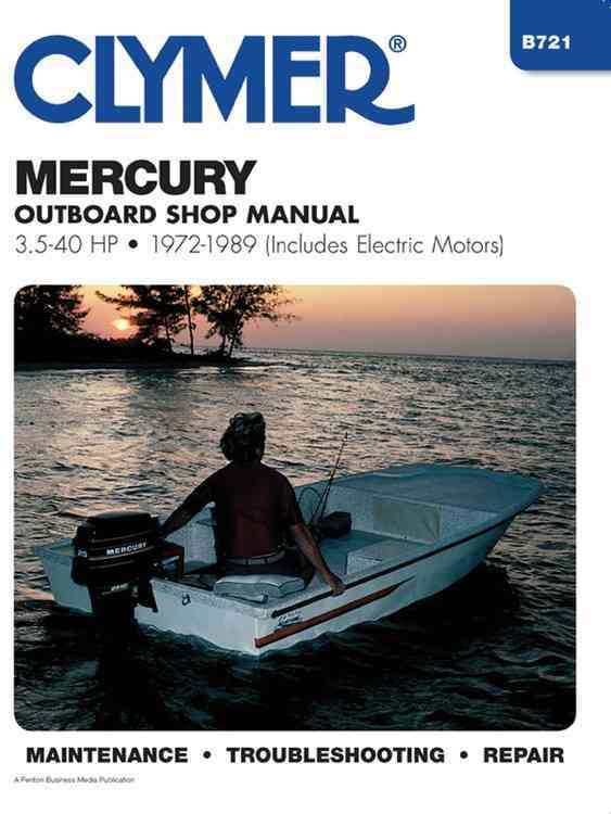 Mercury Outboard Shop Manual 3.5-40 Hp 1972-1989 By Stephens, Randy